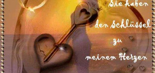 Herz mit einem Schlüssel