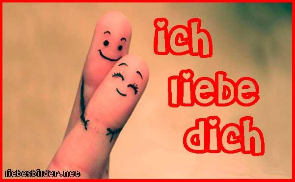 liebenden Finger