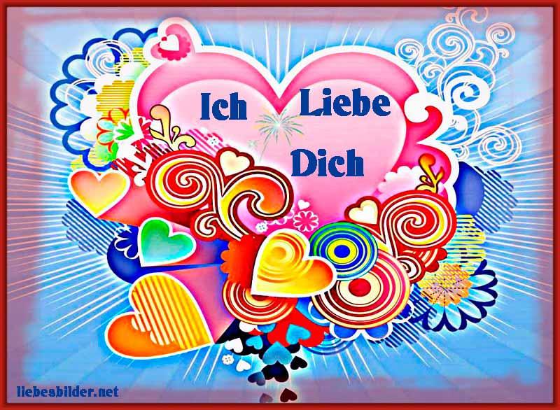 Herzen mit vielen Farben