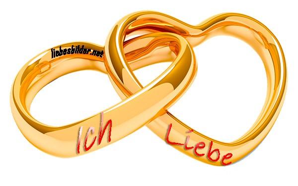 Zwei Ringe Liebe
