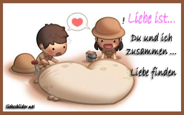 Liebe ist Liebe ist: Du und Ich zusammen...